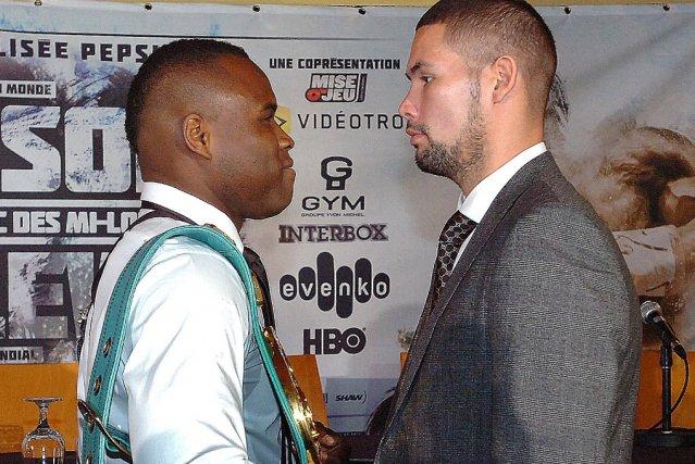 Adonis Stevenson vs. Tony Belley