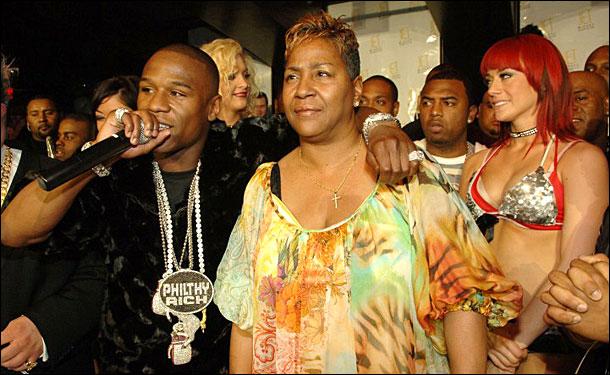 Floyd Mayweather Jr. mom