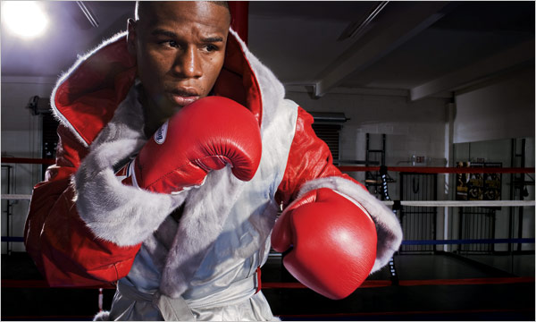 Floyd Mayweather belle photo