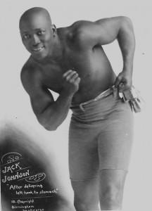 Jack Johnson boxeur