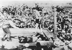 Jess Willard beats J.Johnson