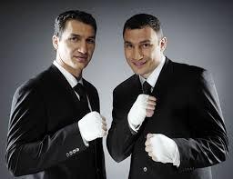 Vitali et Wladimir Klitschko