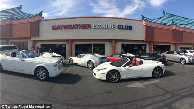 Mayweather boxing club mayweather