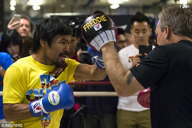 Pacquiao LA photo