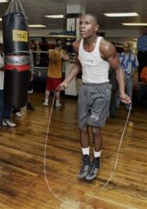 Floyd sur la corde a danser
