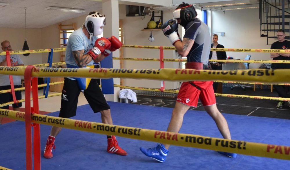 entrainement sparring beginner