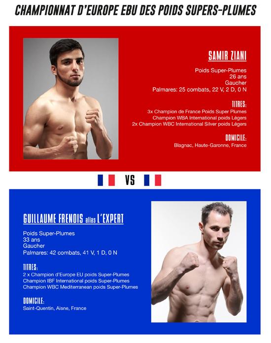 Samir Ziani vs. Guillaume Frenois