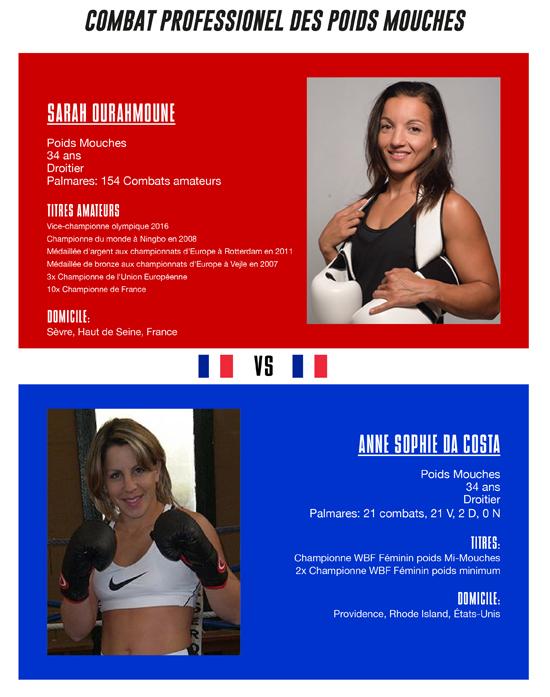 Sarah Ourahmoune vs. Anne Sophie Da Costa