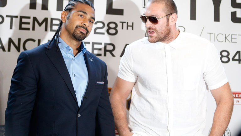 Tyson Fury Vs David Haye